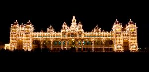 Mysore Place's Thousands Bulbs by jihel