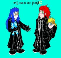 will you be my friend by TheLaughingChimera