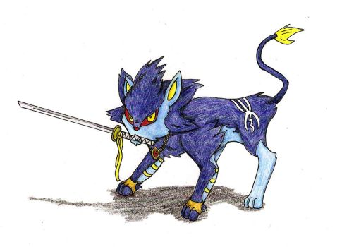 my luxray vergil by xtreamxboxer