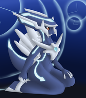 Dialga Anthro by oldanthropokemon