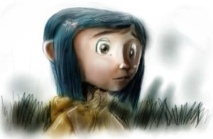 coraline quick color sketching by kaieru