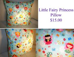 Little Fairy Princess Pillow by The2SistersShoppe