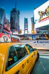 Times Square Taxi by Torsten-Hufsky