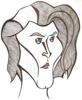 Caricature - Sweeny Todd by sweeneykitkat