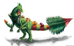 Mega Sceptile by gabitigress18