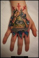 Eye on hand 2 by grimmy3d