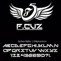 Fcuz F5   Font by StillPhantom