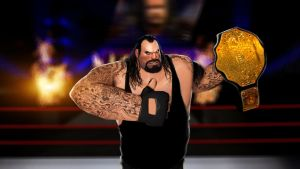 Undertaker the HEAVYweight Champion by DizNot
