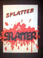 Splatter by ryliecat