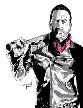 The Walking Dead: Negan by StevenWilcox