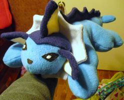 Vaporeon Plushie commission by Pickelicious