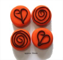 Polymer Clay Beads 52 by snowskin