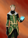 Young Loki by Giando1611990