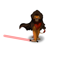 Darth Simba by FireLeviathan