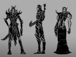 Dark Eldar by Captain-Asparagus