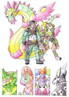 Elite Four Maximiliano by darksilvania