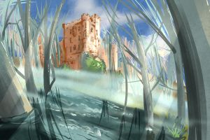 Commission Landscape by Atobe333