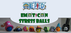 One Piece Emoticon StressBalls by ZeroBR