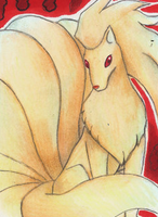 Ninetales by Ricao