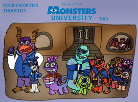 DT 96 - Monsters University by Duckyworth