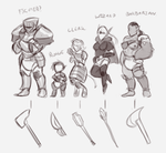 Possible Comic Concepts by Zee-Rage-Man