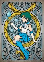 Sailor Mercury by Draw-out-loud