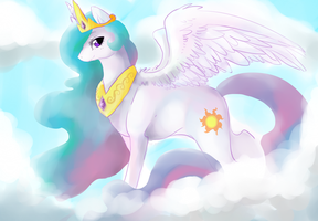 princess celestia by Spaceprobe