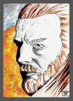 Qui-Gonn Jinn Sketch card by TolZsolt