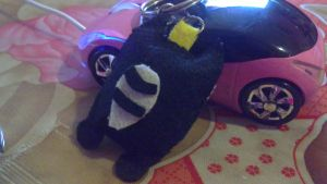 My felt works - black cat by EvaHuynh