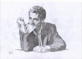 Hugh Laurie by xDMelissar