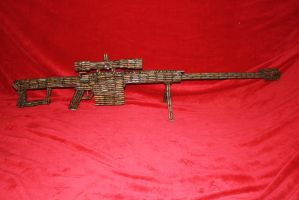 Barrett M107a1 50cal Rifle by RayMackenzie