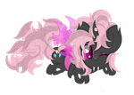Pinkie Pie (Changeling Vision) by Law44444