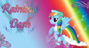 Rainbow Dash - Dama de honor by ulisesdarklight