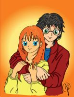 Harry and Ginny by Ourans-Devilish-Fun