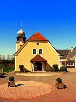 The village church of Geng by patrickjobst