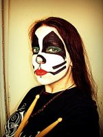 Peter Criss make up by mocorock