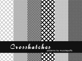 Crosshatches by muzzlepuffs