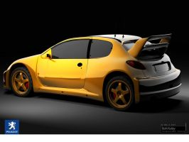 Peugeot 206 Tuning by palax