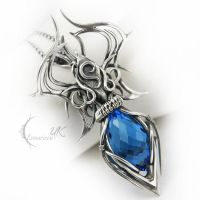 AMANATARX - silver and quartz by LUNARIEEN