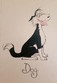 The Dog from Footrot flats  by Polkadotdiva