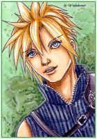 Cloud Strife - KaKAO No. 33 by yashakawaii