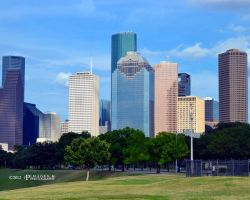 Downtown Houston by bullethead321