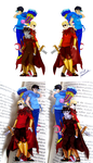 BOOKMARK god tiers by paranoidiomatic
