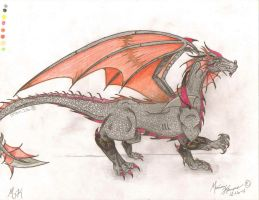 My Dragon -FULL BODY- by MessyArtwok