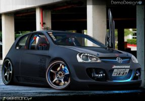 vw _Golf agressive :A by Germanow17