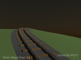 Tracks to nowhere by Morichalion