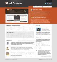 Great Business Template by mabucs