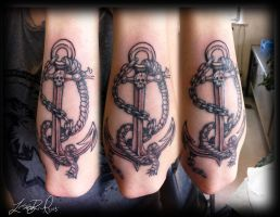 Pirate Anchor by LeelaB