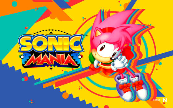 Sonic Mania - Wallpaper [Amy] by NathanLaurindo