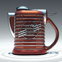 210610 - electric teapot by 600v